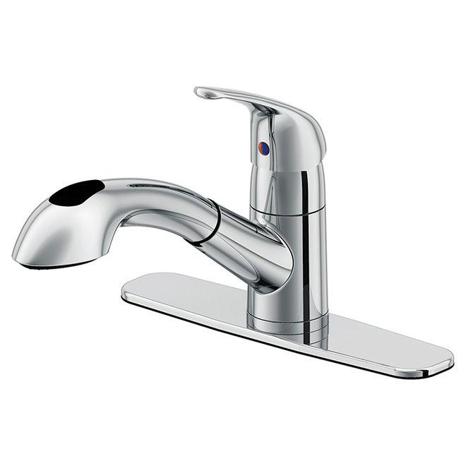 kuban quot handle kitchen faucet rona | Home Design Idea | Pinterest ...