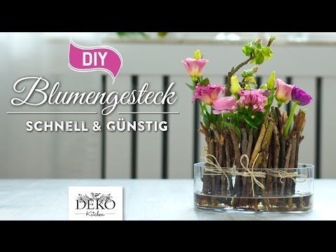 Diy fr hlingshafte blumendeko schnell g nstig how to deko kitchen youtube deko - Youtube deko kitchen ...