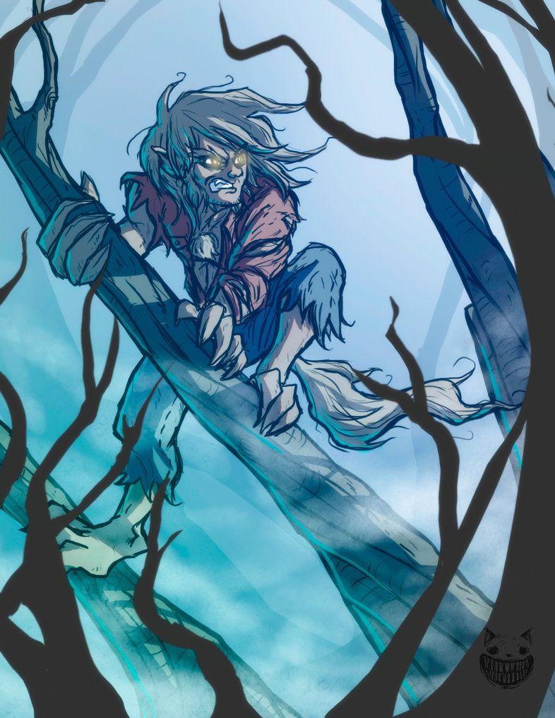 Werewolf by mau009 on DeviantArt Werewolf, Anime, Character