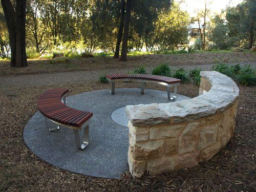 Circular Park Seating Google Search Outdoor Decor Plant Combinations Outdoor