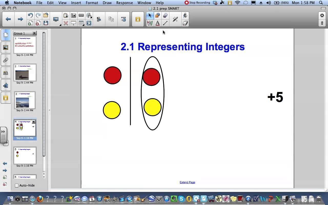 2 1 Representing Integers