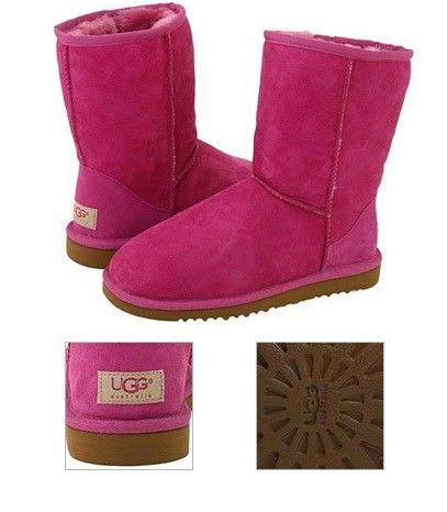 906e54582a5 Fuschia Ugg Boots   The Archives   Classic ugg boots, Ugg winter ...