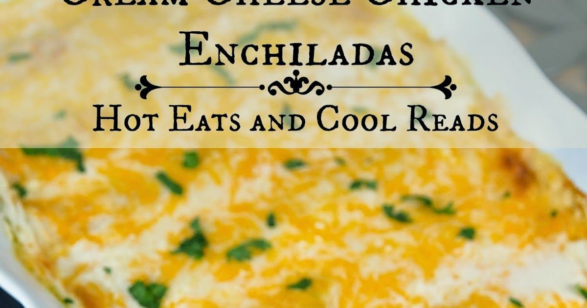 These chicken enchiladas are full of creamy, cheesy goodness! Sure to be a new family favorite!      Happy Saturday everyone!! (Or Sunday to...