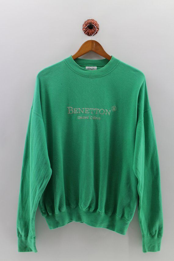 20bd06b10972d UNITED COLORS Of BENETTON Pullover Sweater Men Large Benetton ...