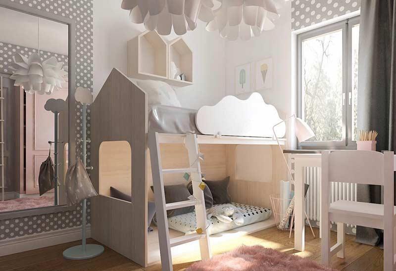 MontessoriBett Inspirationen zum Einbringen der Möbel in