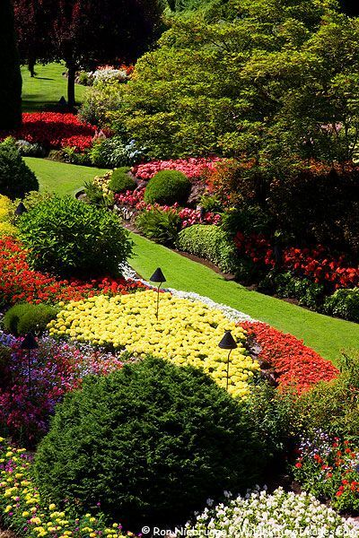 Butchart Gardens, Victoria, British Columbia, Canada #butchartgardens - Tree Blog #butchartgardens