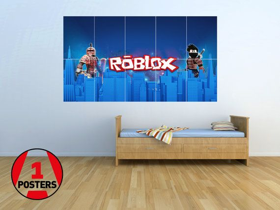 Roblox02 Giant Wall Poster Picture Art 1 45m X 0 8m