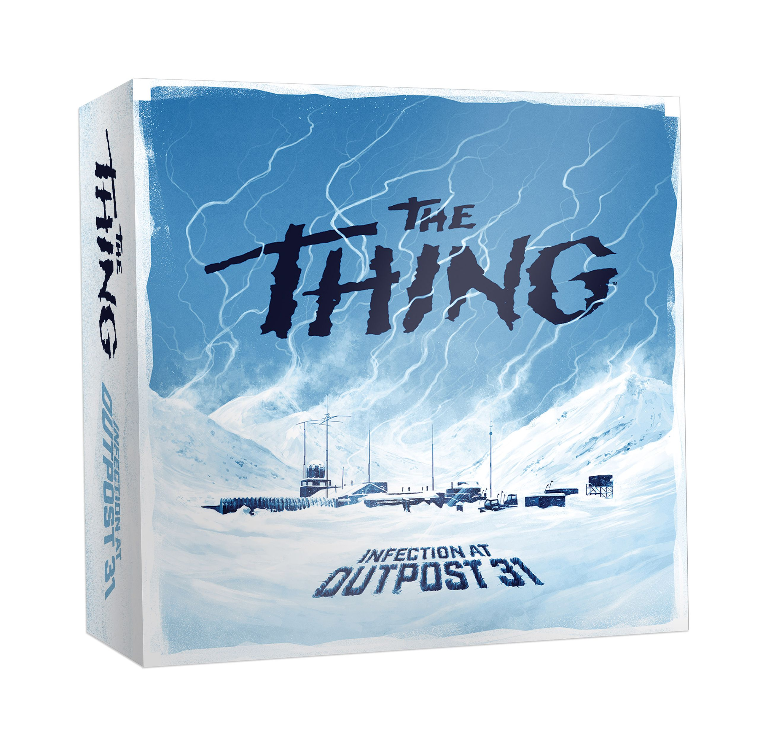 The Thing board game: Exclusive First Look