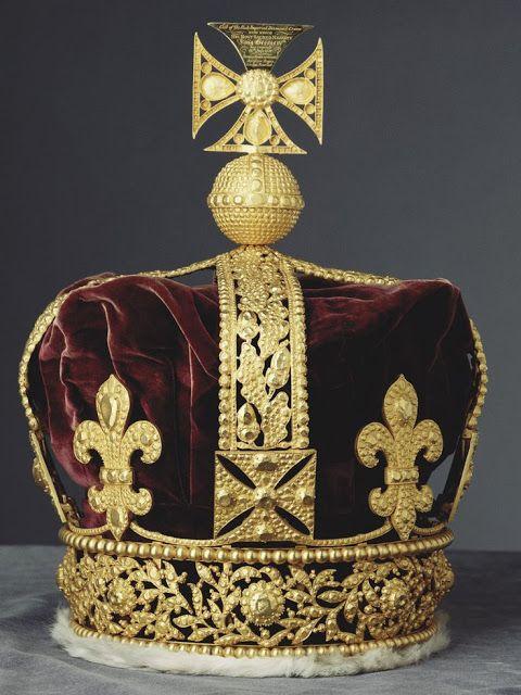 Königliche Juwelen: Die Krönungskrone Georgs IV.