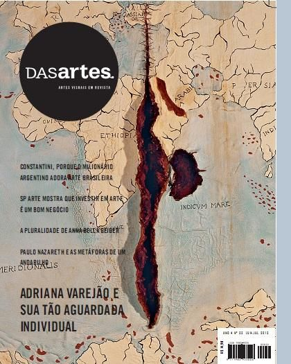 Adriana Varejão DASartes Magazine-  Abertura da individual do MAM- 4/09
