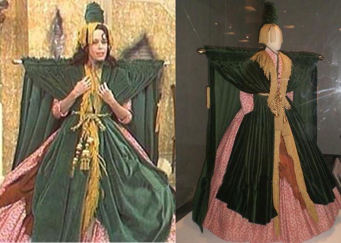 Beautifully-Made Carol Burnett's Curtain Dress Costume | Costume ...