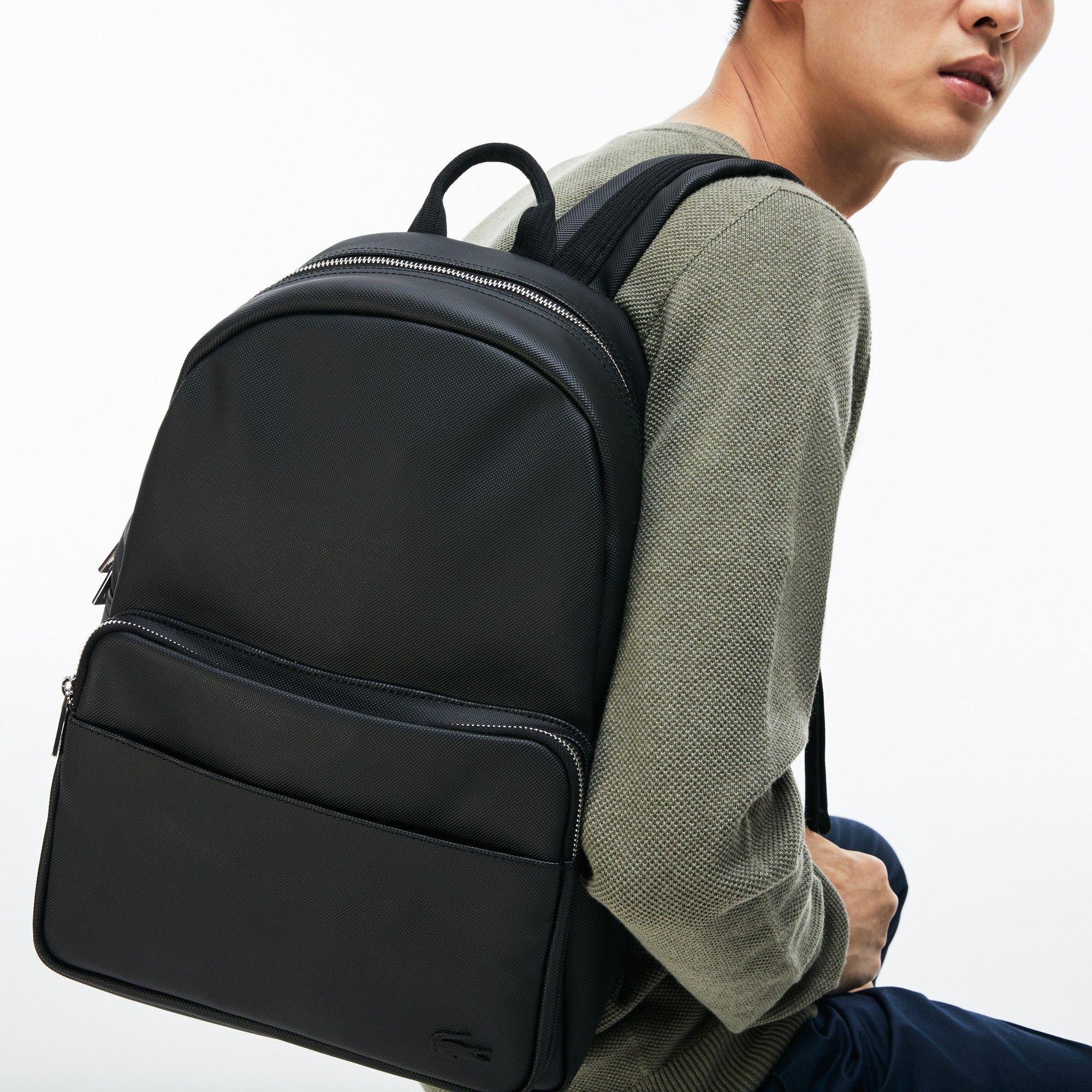 3caae63bf01d LACOSTE Men s Classic Petit Piqué Backpack.  lacoste  bags  pvc  backpacks   cotton
