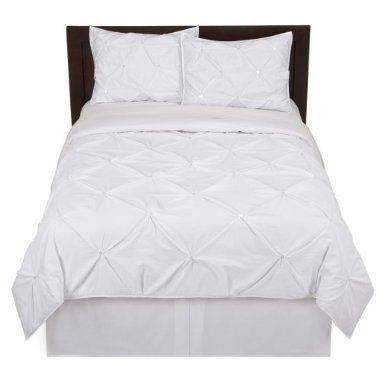 Home Kissing Pleat Duvet Set White Target Duvet Sets Bedroom Inspirations White Bedding
