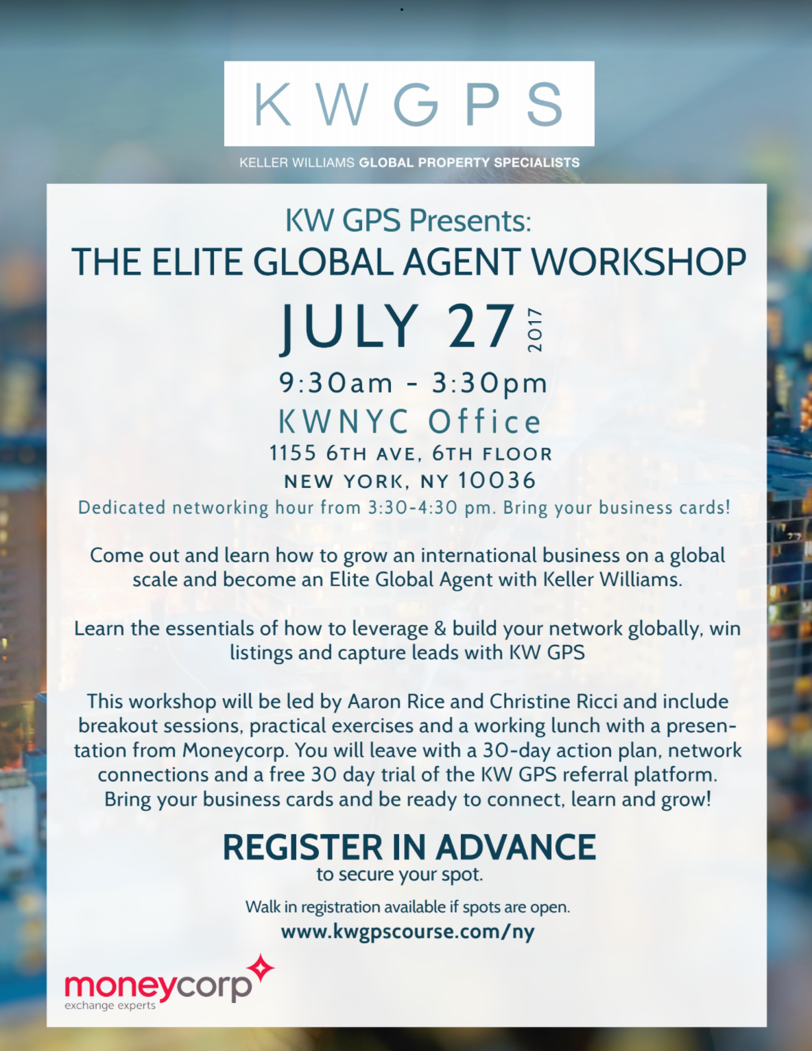 The elite global agent is coming to keller williams nyc seats are the elite global agent is coming to keller williams nyc seats are filling up fast reheart Choice Image