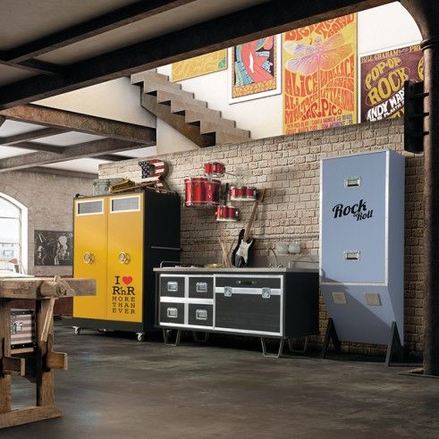 Cucina Rock & Roll di Dialma Brown | lartdevivre ...