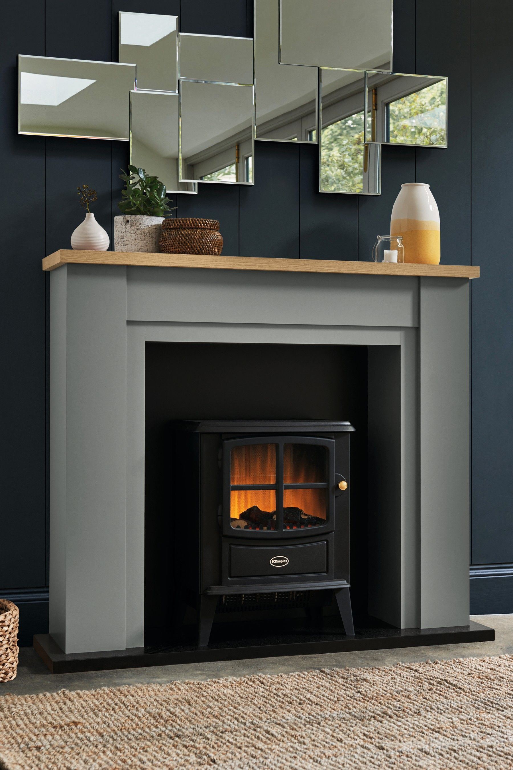 Next Malvern Grey Fireplace Surround Grey Fireplace Surrounds