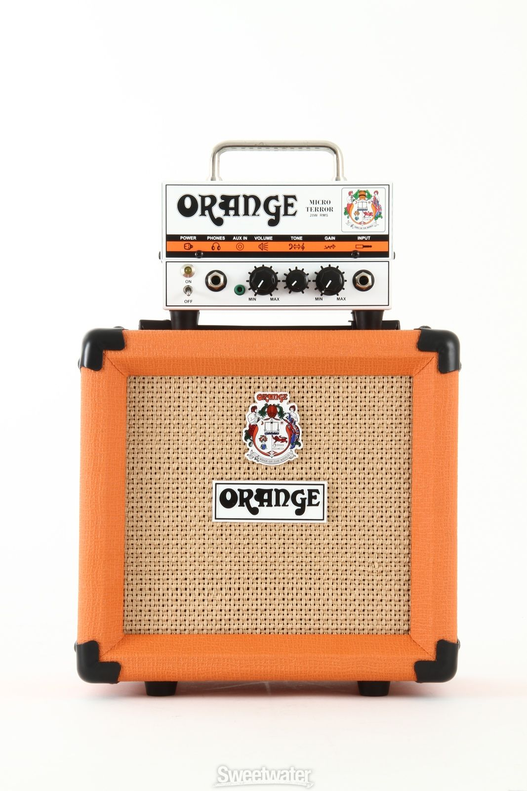Orange Micro Terror Head and PPC108 Cabinet | Sweetwater.com ...