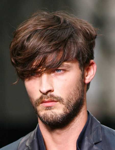 cortes de pelo hombre verano flequillo largo