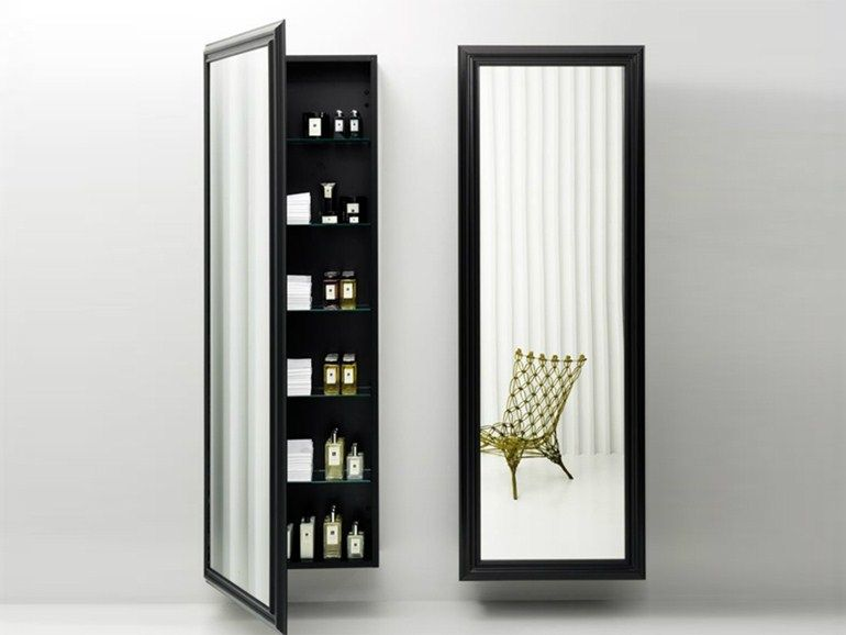 Cabine Bagno Complete : Tall bathroom cabinet with mirror architectural the wanders