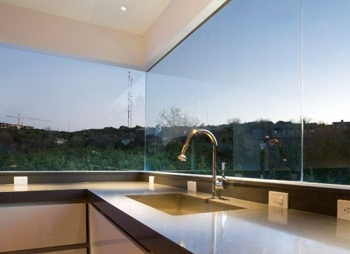 Unobstructed glass, put it throughout the house!