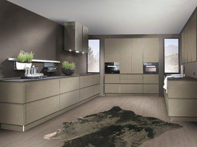 Küchen Adrian ~ Zeer mooie en trendy keuken in betonlook. deze kleur zorgt niet