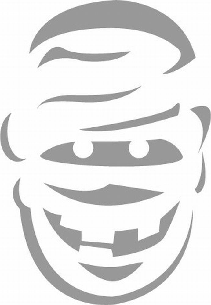 free pumpkin carving stencils mummy fall halloween