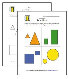 BIG and SMALL: Help kids learn the concept of big and ...