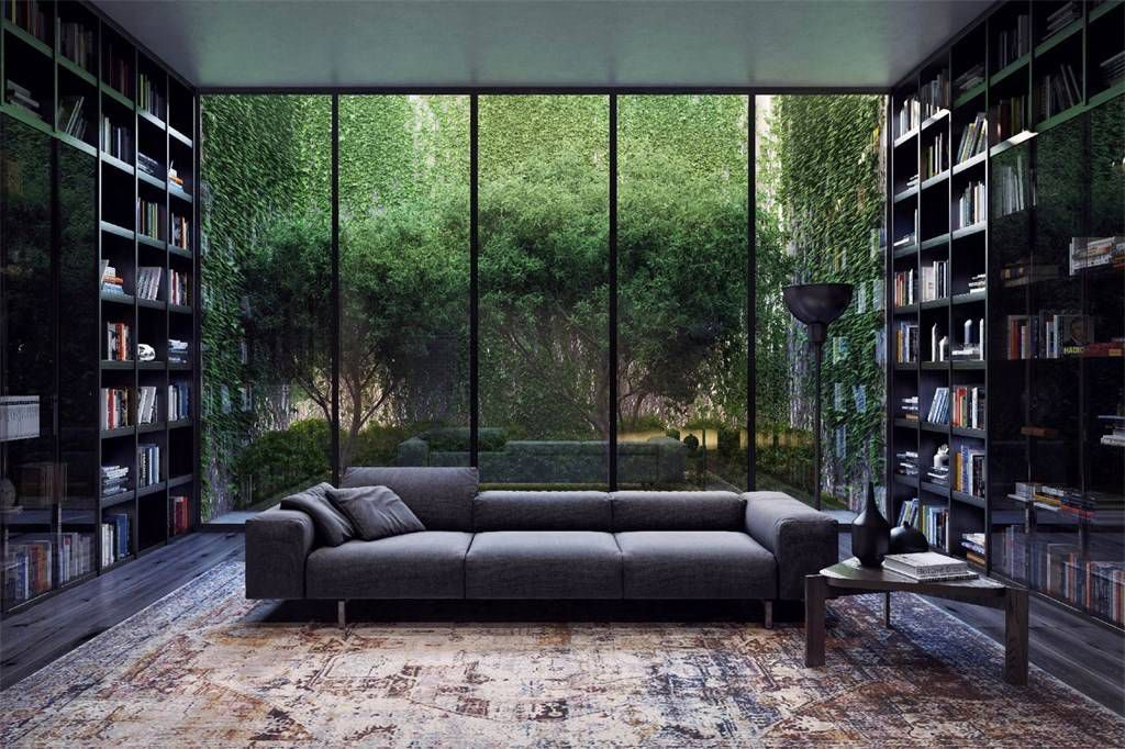 10 Dream Homes That Take City Dwelling To A Whole New Level Home Library Design Dream Home Design House Design