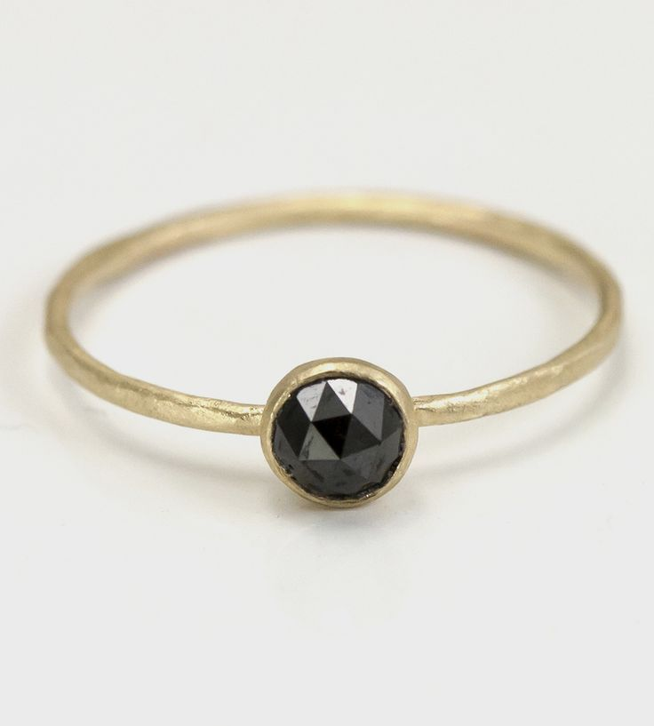 Awesome Gold rings with diamonds Black Diamond & Gold Ring by ...
