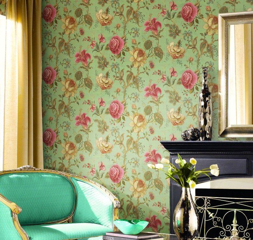 bedroom wallpaper design flowers romantic purple bedroom more from my siteflower wallpaper bedroomflower wallpaper purpleflower wallpaper pinkflower fairy - Flower Wallpaper For Walls