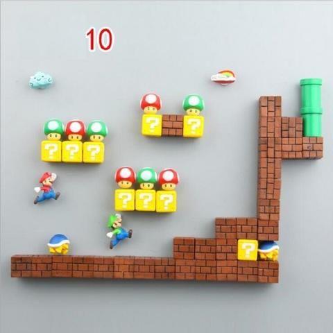 3D Super Mario Fridge Magnets images