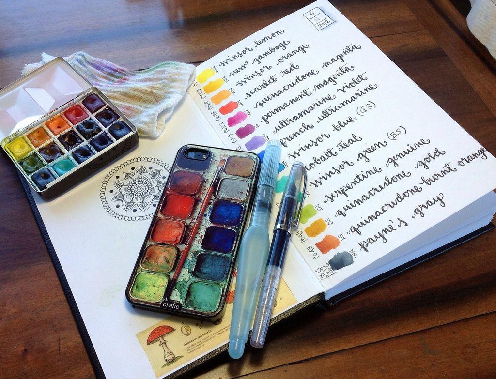 New Watercolor Box Or Disguise Watercolor Kit Watercolor