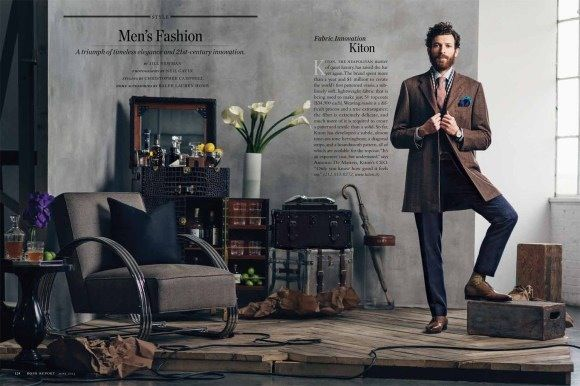 OLIVER RUSSELL FOR ROBB REPORT JUNE 2013