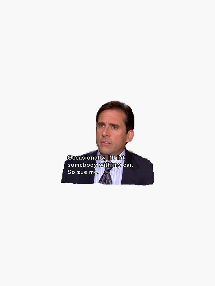 The Office Sticker By Belledesigns Redbubble The Office Stickers Michael Scott Quotes Funny Phone Wallpaper