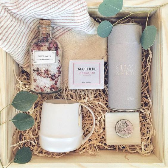 Relax Box For Her Loved And Found Curated Gift BoxLOVE This Idea