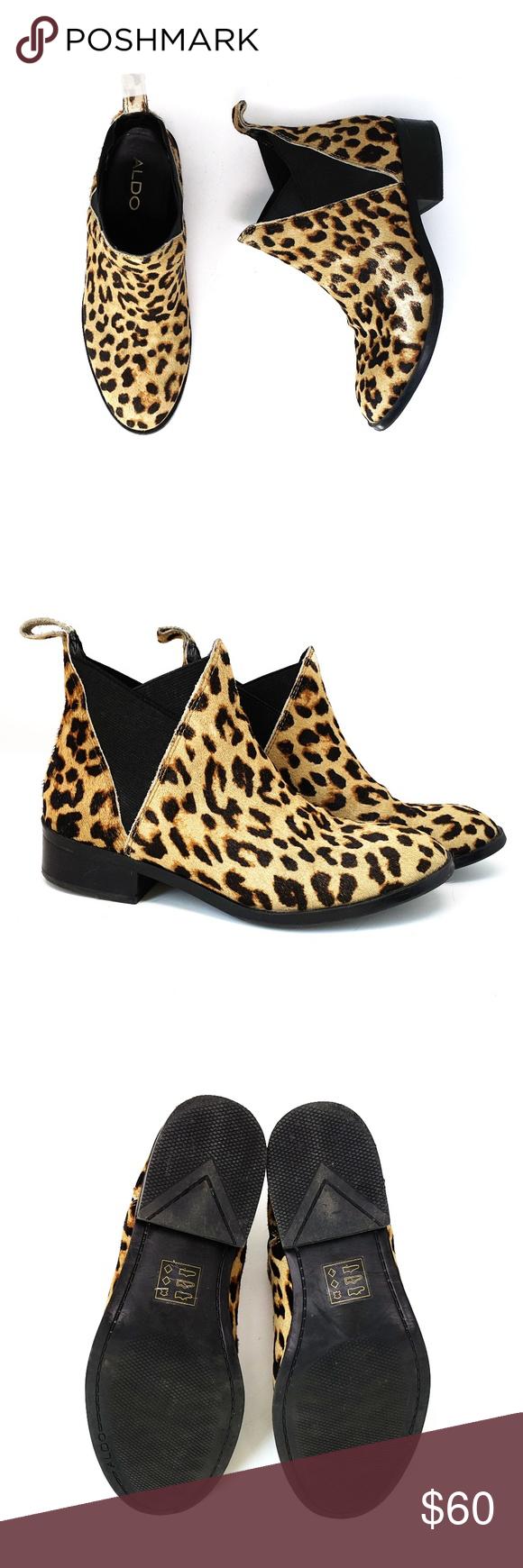 aldo leopard print boots