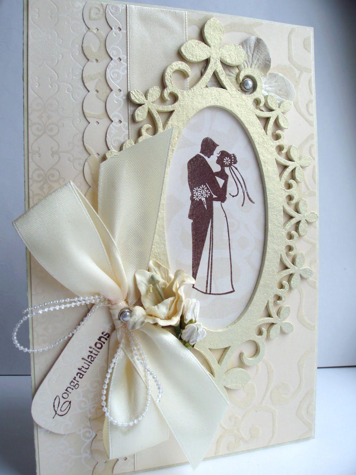 Днем, делаем своими руками открытку для свадьбы