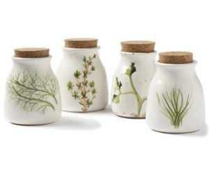 Love this!  A great way to store herbs.