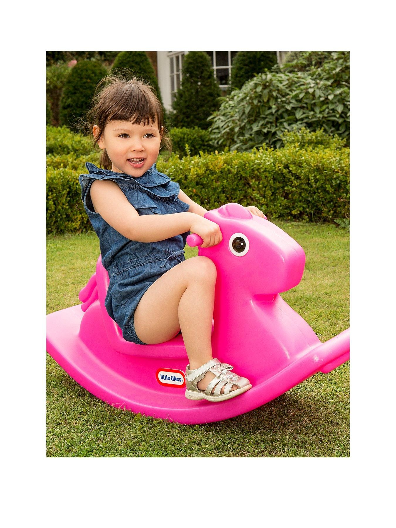 Rocking Horse Pink In 2020 Rocking Horse Little Tikes Classic Rocking Horse