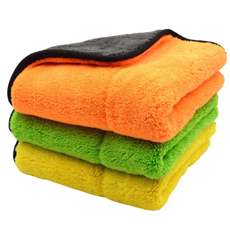 Microfiber Dish Cloth  Car Wash Towel Polishing  Scrubing Waxing Wiping Rags