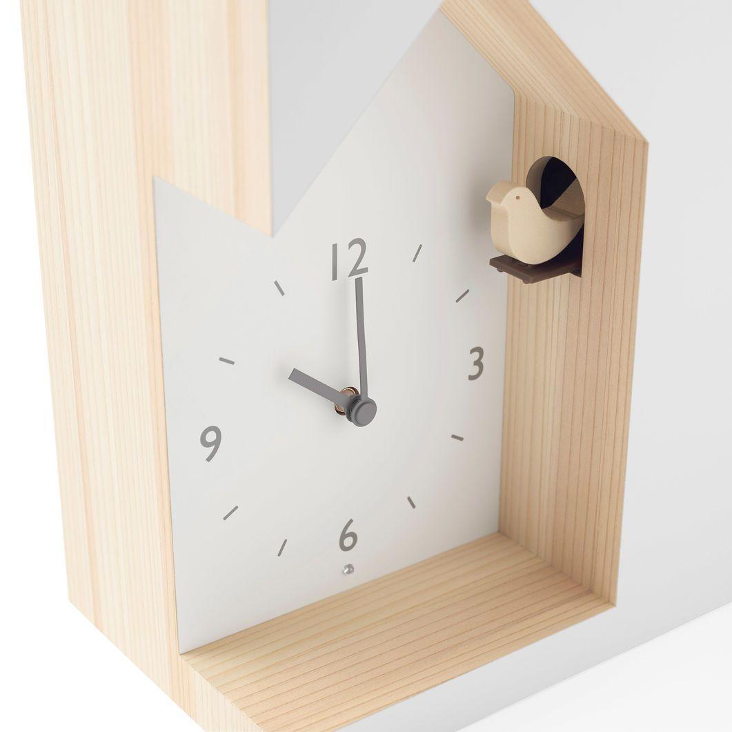 Nendo Dent Cuckoo Clock In Color