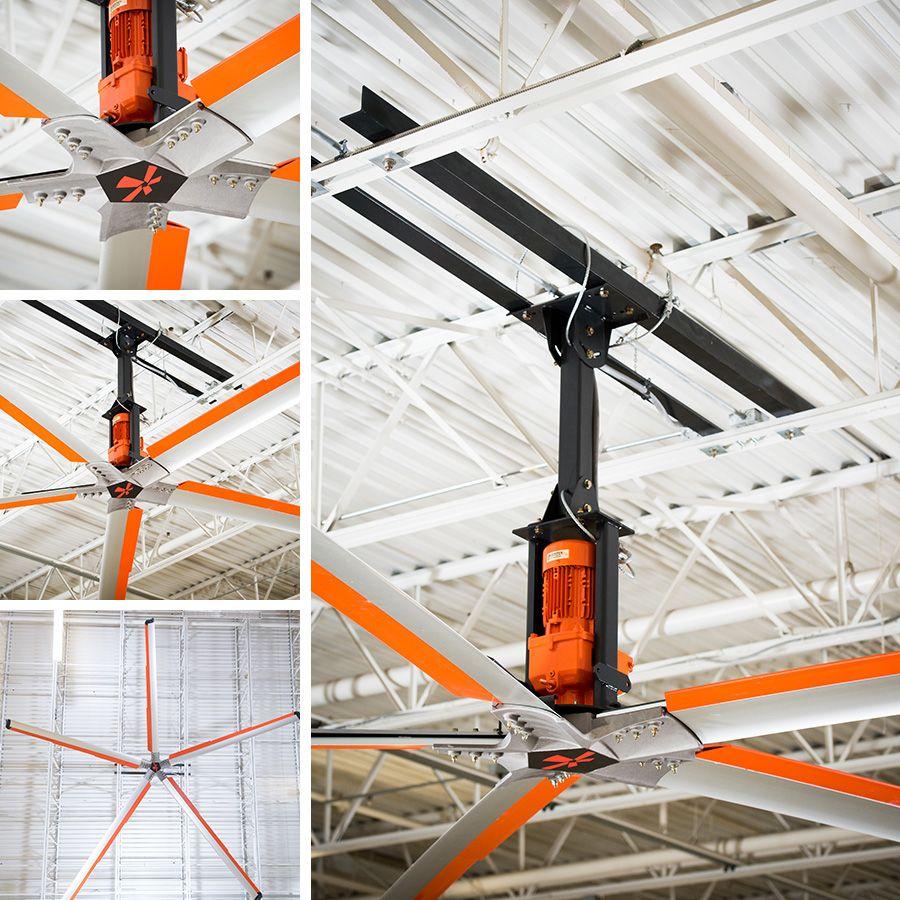 Z Tech Hvls Industrial Ceiling Fan