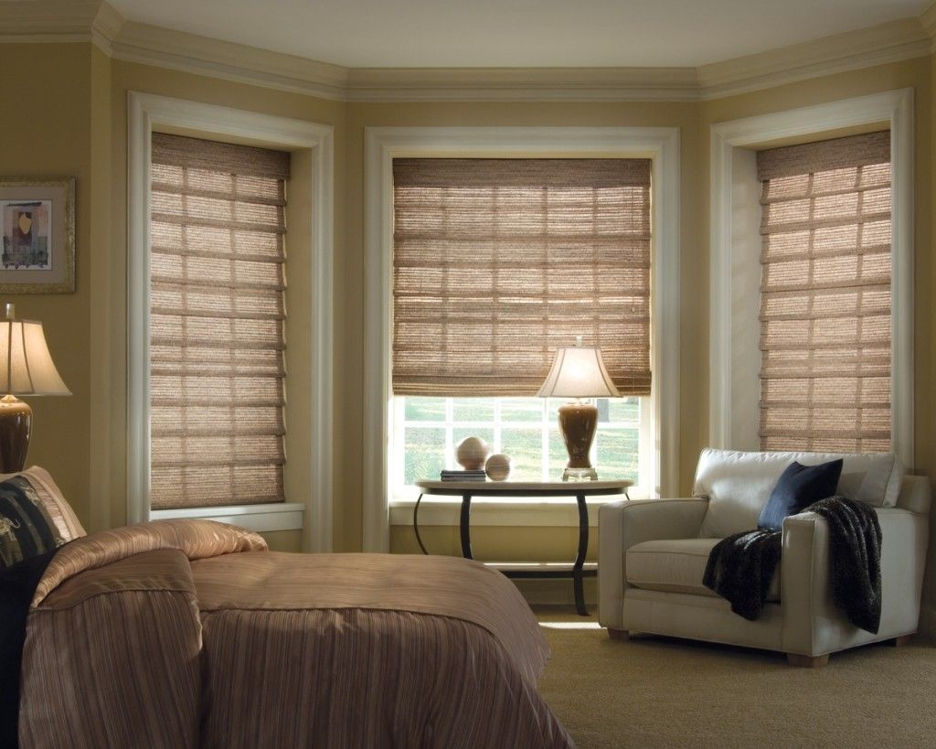 Window treatments for bay windows in bedrooms -