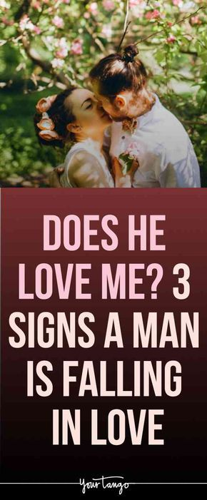15 Hidden Signs A Man Is Falling in Love With You | Does