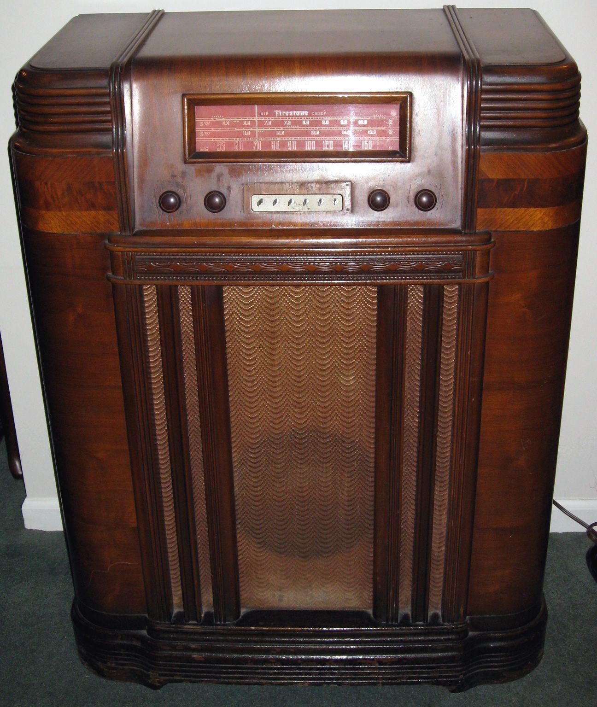 Firestone Air Chief Radio Vintage Radio Antique Radio