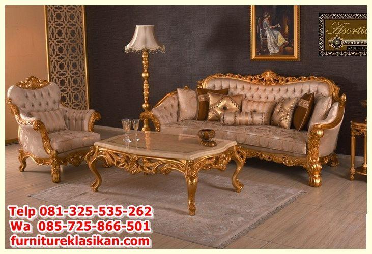 Kursi Sofa Santai Busa Lj 26 KS-01,furniture sofa, gambar sofa - barock mobel versailles sofa