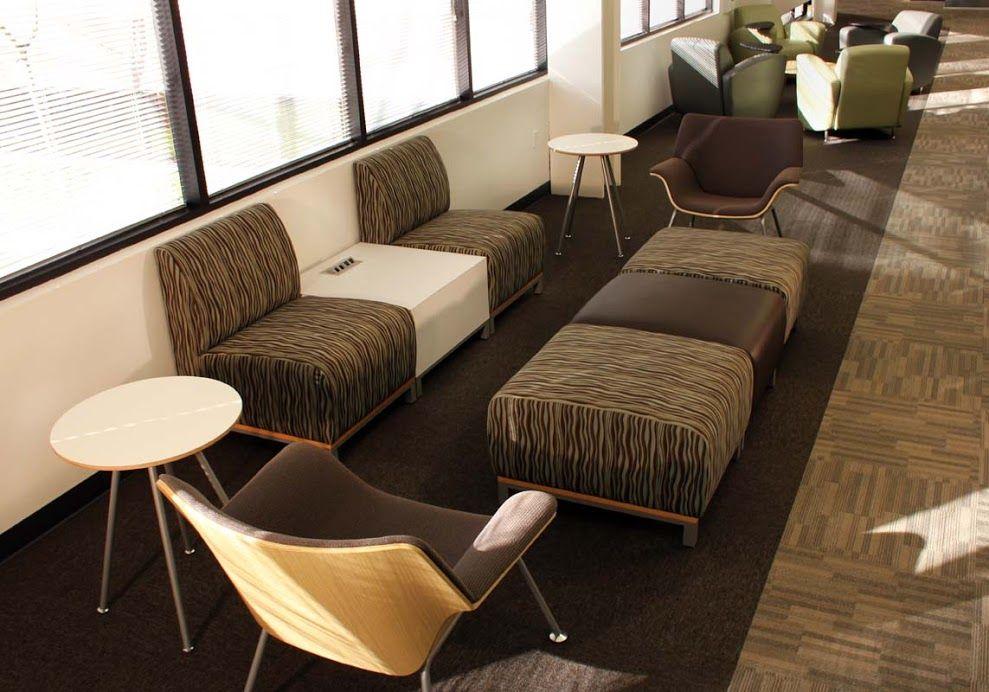 Enphase Energy (Petaluma, CA) Swift Lounge Seating In Collaborative/open  Space Area.