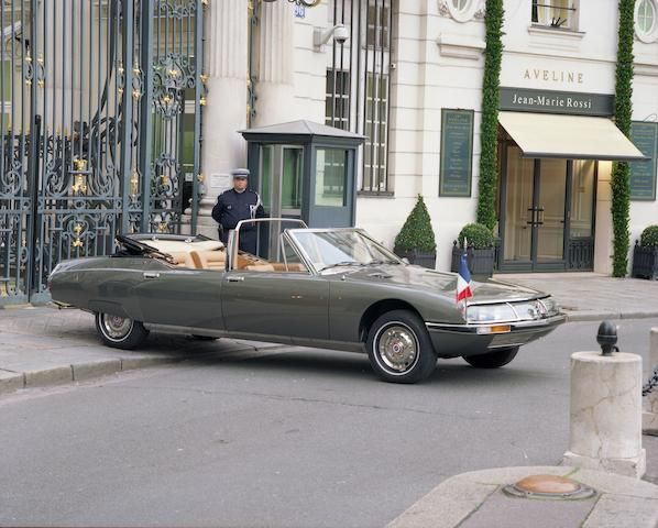 2008 citroen sm limousine convertible coachwork design for Garage citroen paris