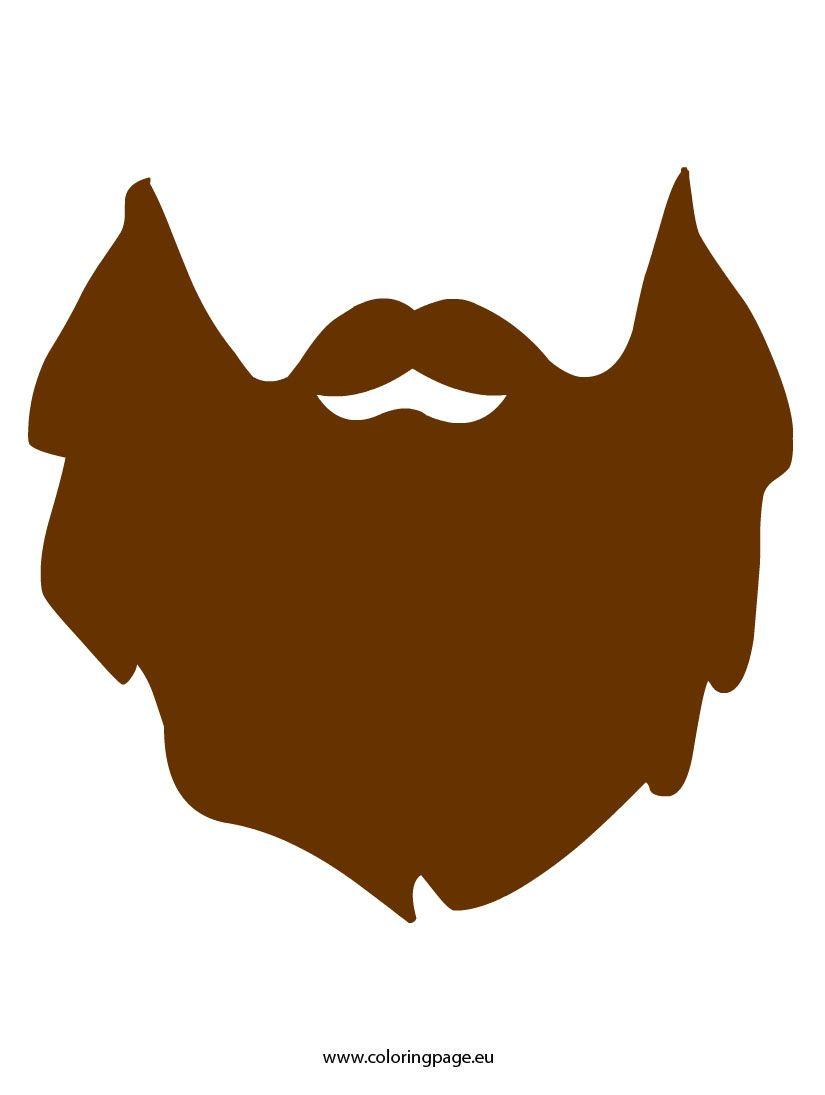 Beard lumberjack. Free clip art clipartal