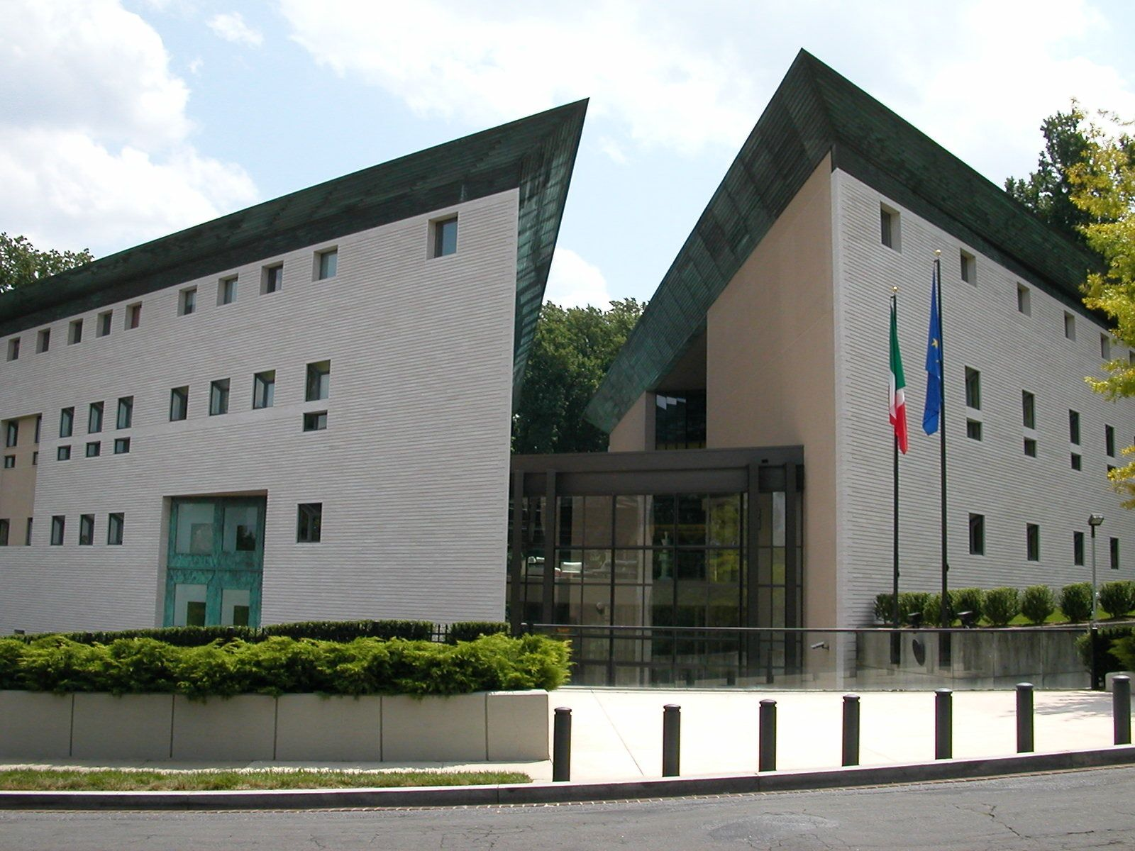 Italy's embassy in D.C.